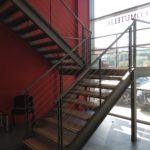 escalier intérieur en métal
