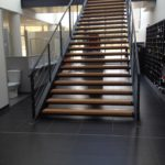 Show room escalier métal